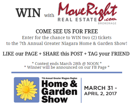 JOIN US AT THE GREATER NIAGARA HOME AND GARDEN SHOW